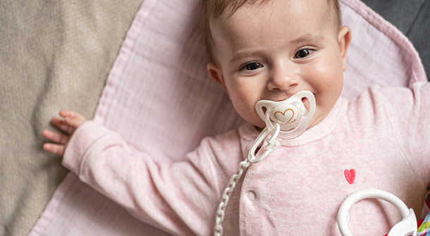 When to give your baby a pacifier.