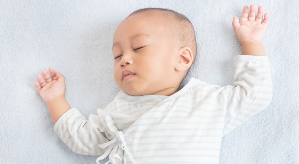 Sleep routines help prepare baby for bedtime and naps