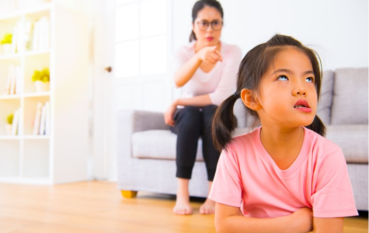 It is frustrating when your child talks back