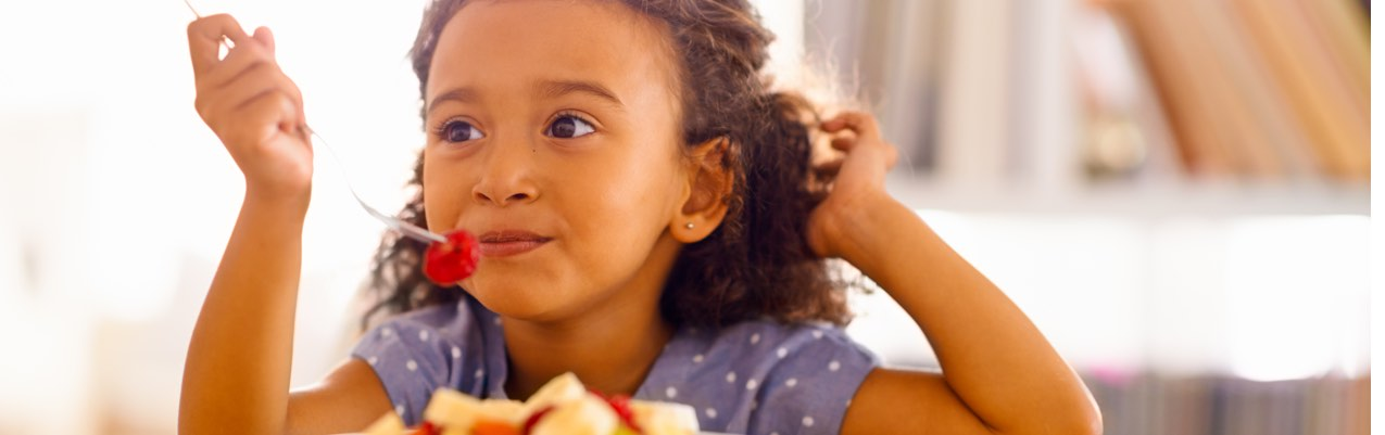 Raising your kids with healthy eating habits doesn't have to be hard