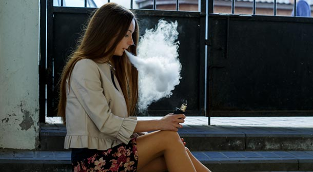 Vaping can be easy to hide because there is no odor.